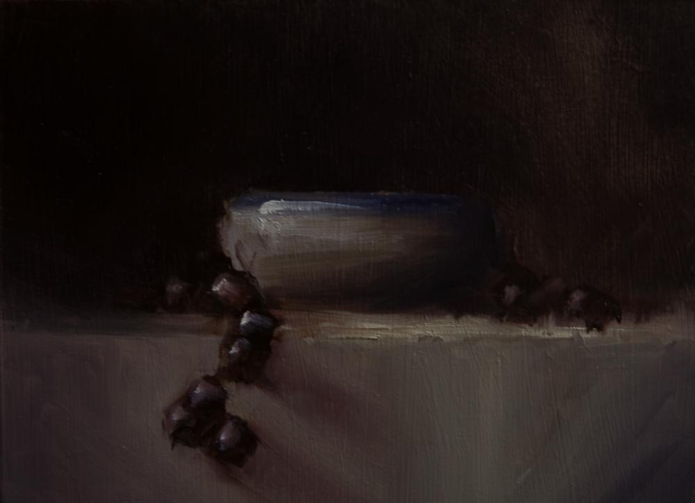 """""""Bowl"""" original fine art by Neil Carroll"""