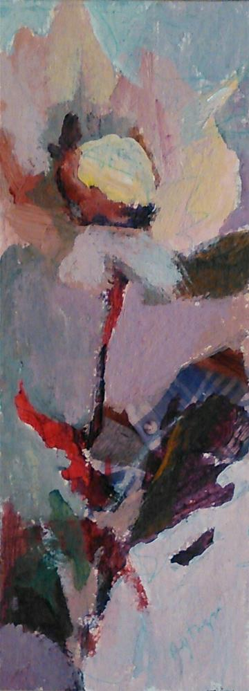 """""""Opera Mauve"""" original fine art by Ann Rudd"""