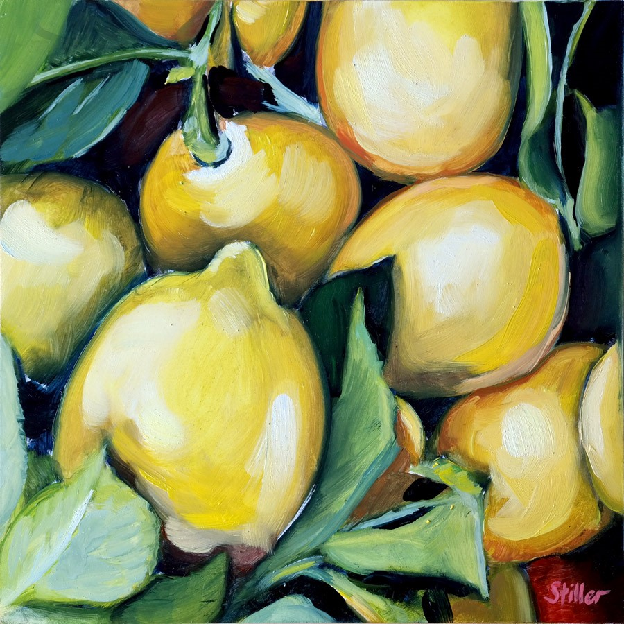 """3145 LemonOil"" original fine art by Dietmar Stiller"