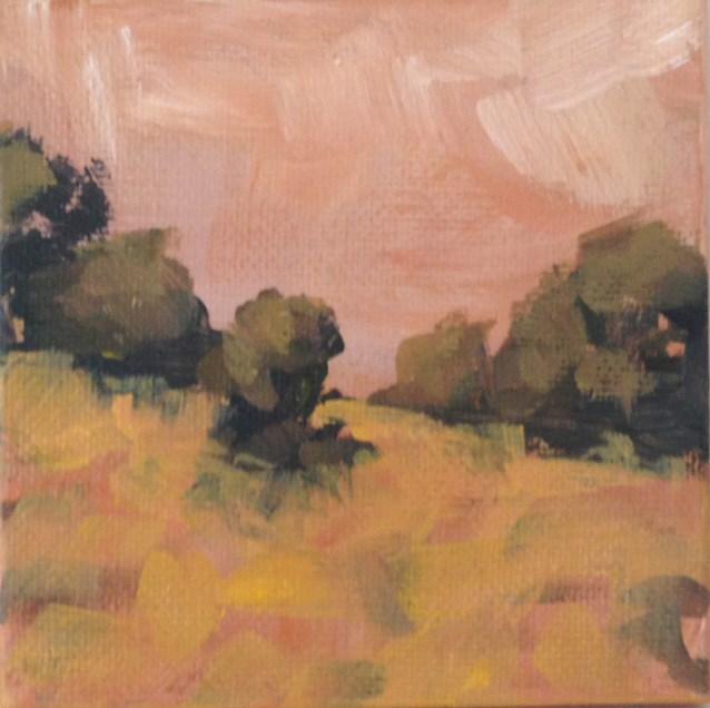 """Evening Hike"" original fine art by Shannon Bauer"