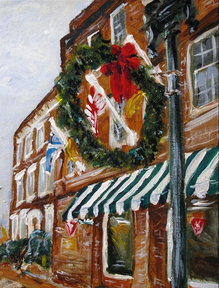 """""""North Main"""" original fine art by Susan Elizabeth Jones"""