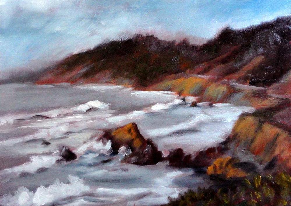 """""""Westport Union Landing, North View"""" original fine art by Cietha Wilson"""
