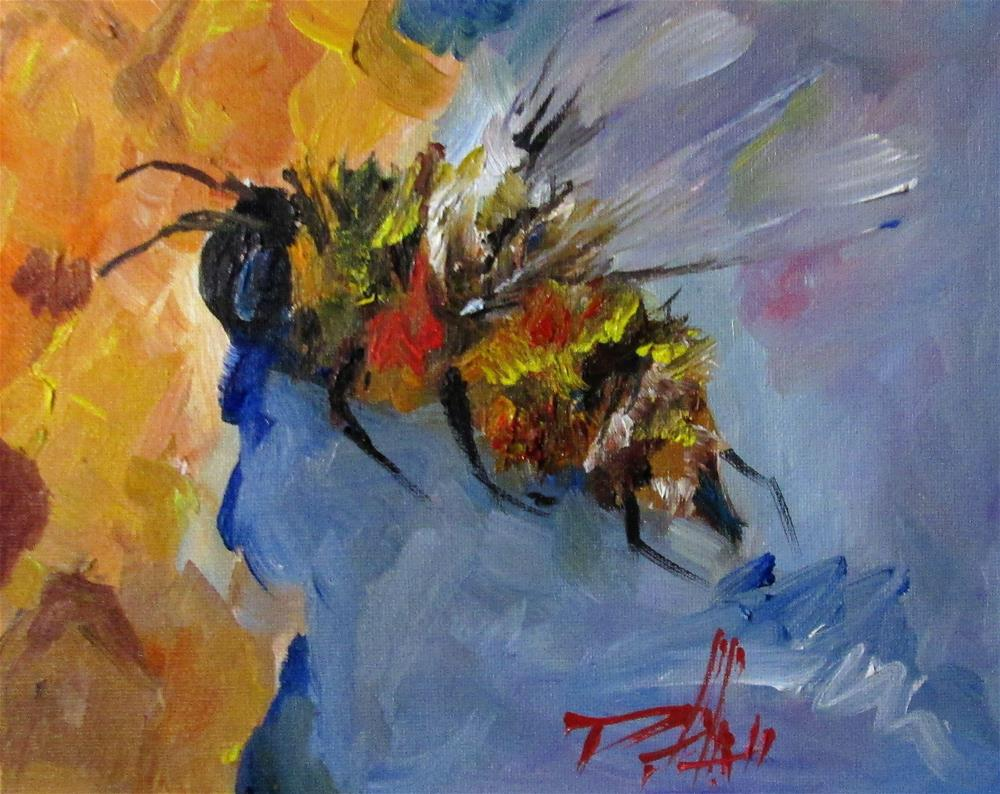 """Honey Bee"" original fine art by Delilah Smith"