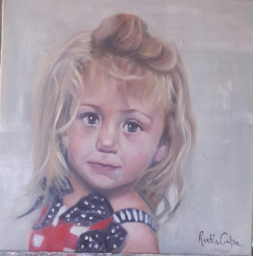 """Ella"" original fine art by Rentia Coetzee"