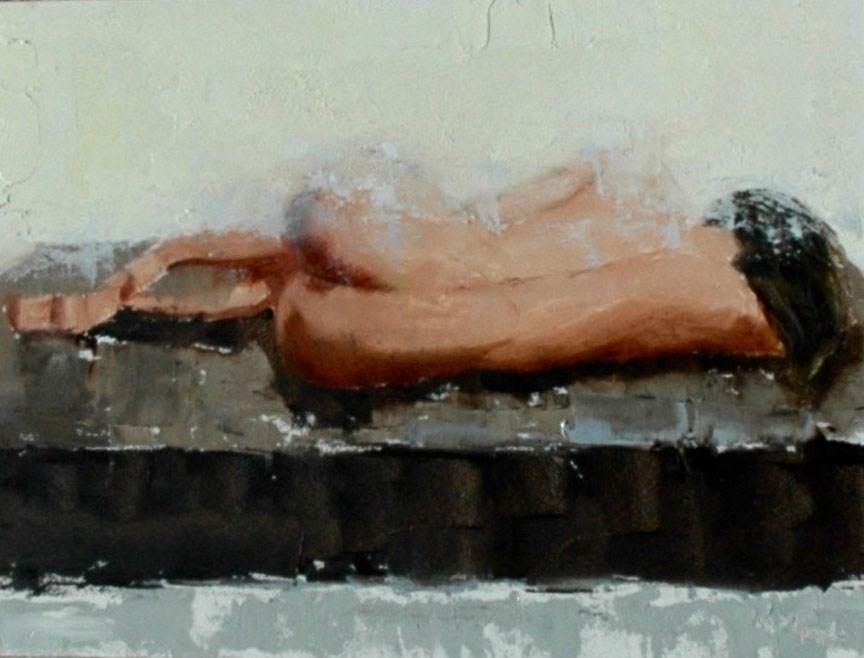 """FIGURE 6"" original fine art by Linda Popple"