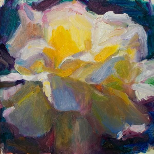 """""""Flower3"""" original fine art by Sharon Savitz"""