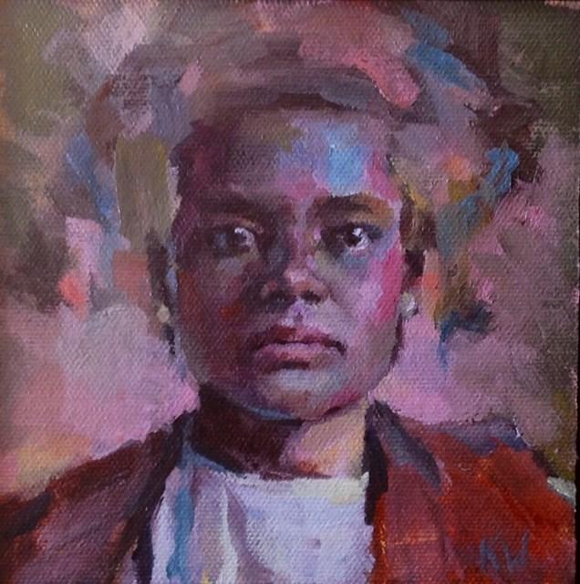 """Small Series #32"" original fine art by Katie Wilson"