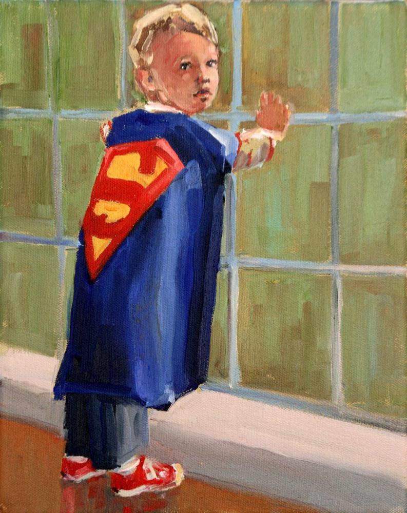"""super jack"" original fine art by Carol Carmichael"