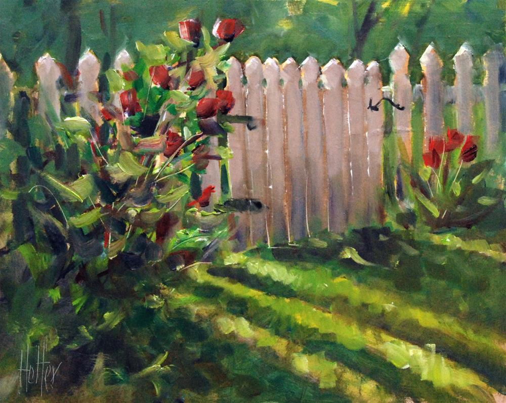"""""""Narrow Gate"""" original fine art by Michael Holter NWS"""