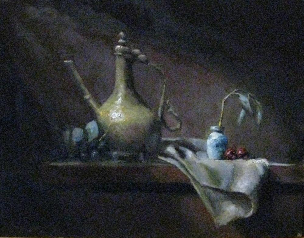 """""""cascading light"""" original fine art by tom dawson"""