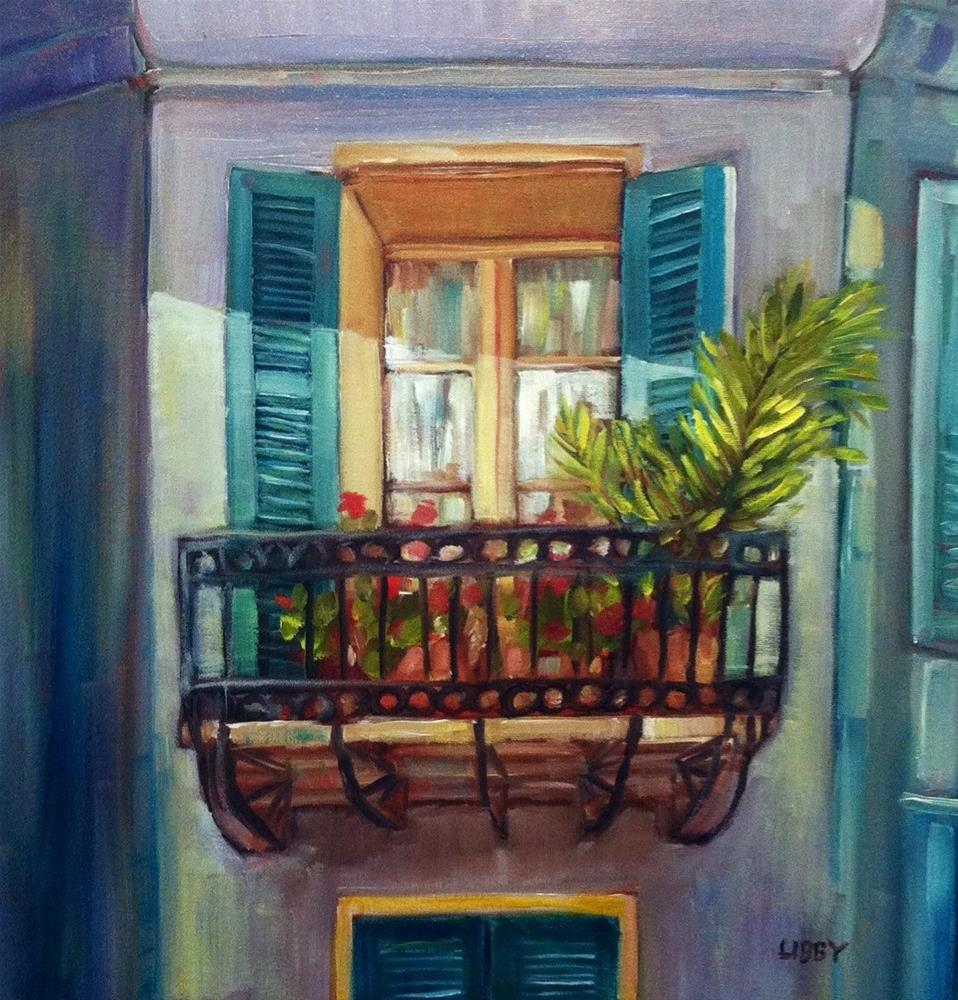 """""""New Orleans Lady"""" original fine art by Libby Anderson"""