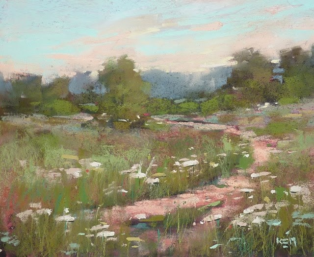 """""""A Tip for More Painterly Paintings"""" original fine art by Karen Margulis"""