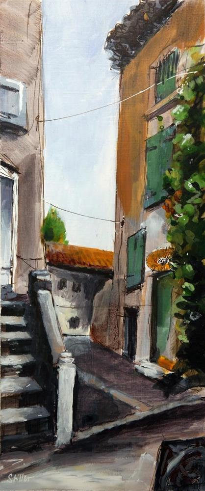 """2984 L'Escalier"" original fine art by Dietmar Stiller"