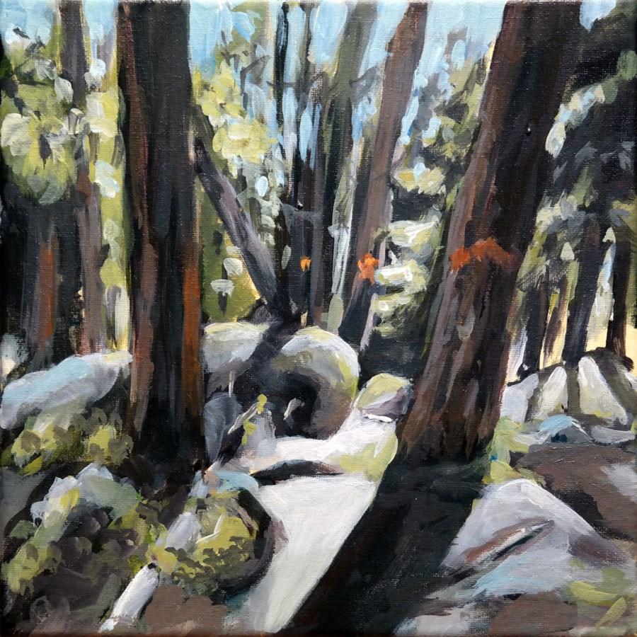 """""""1521 Wood-Stock"""" original fine art by Dietmar Stiller"""