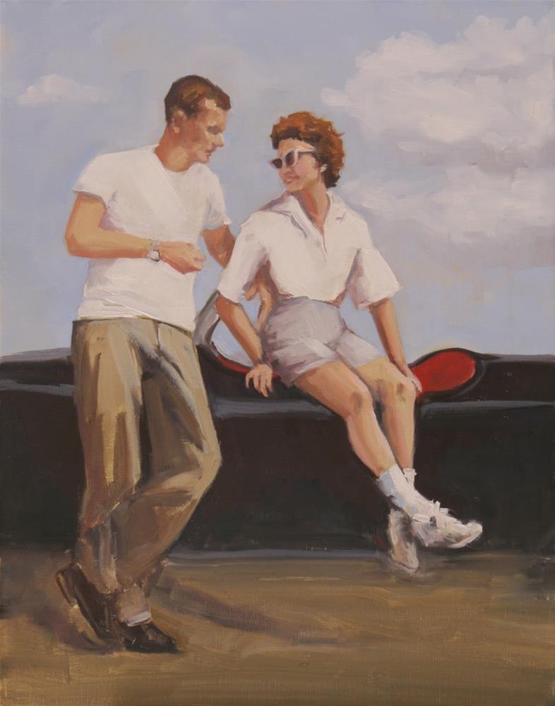 """""""my girl"""" original fine art by Carol Carmichael"""