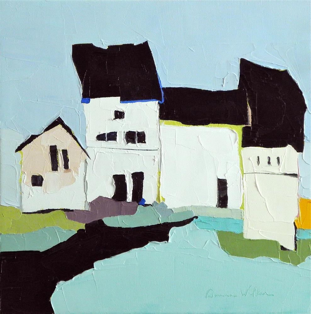 """Quartet Variation"" original fine art by Donna Walker"
