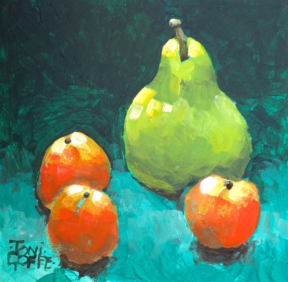 """We Three"" original fine art by Toni Goffe"