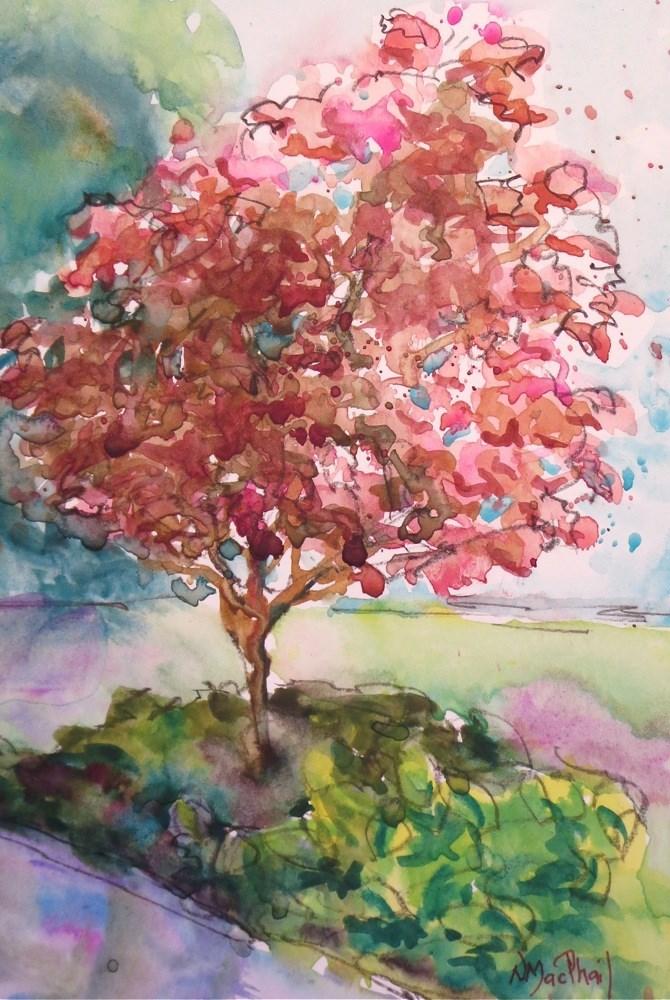 """""""all year round"""" original fine art by Nora MacPhail"""