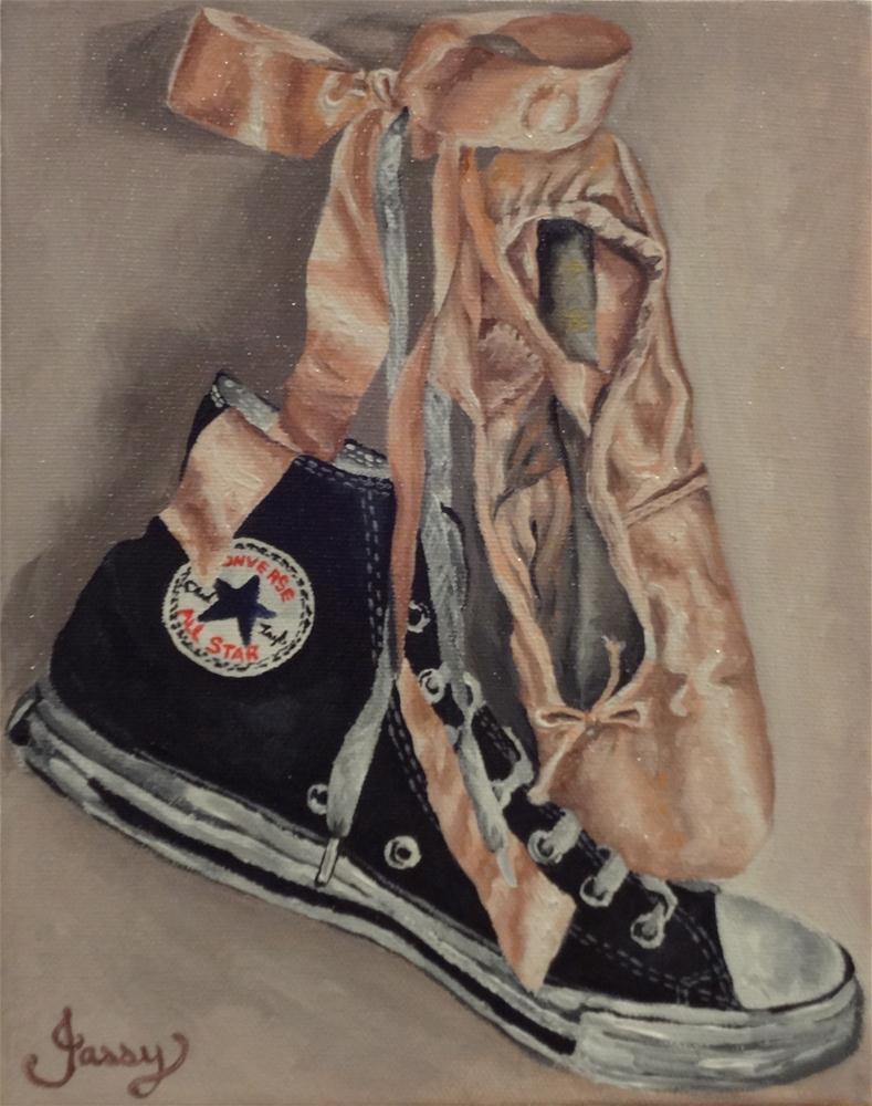 """Love"" original fine art by Jacinthe Rivard"