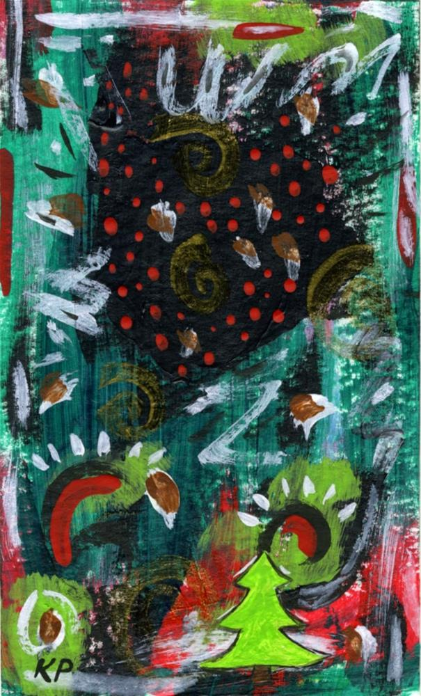 """""""Holiday Traditions"""" original fine art by Kali Parsons"""