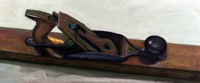 """Brooklyn Plane"" original fine art by Cristine Kossow"