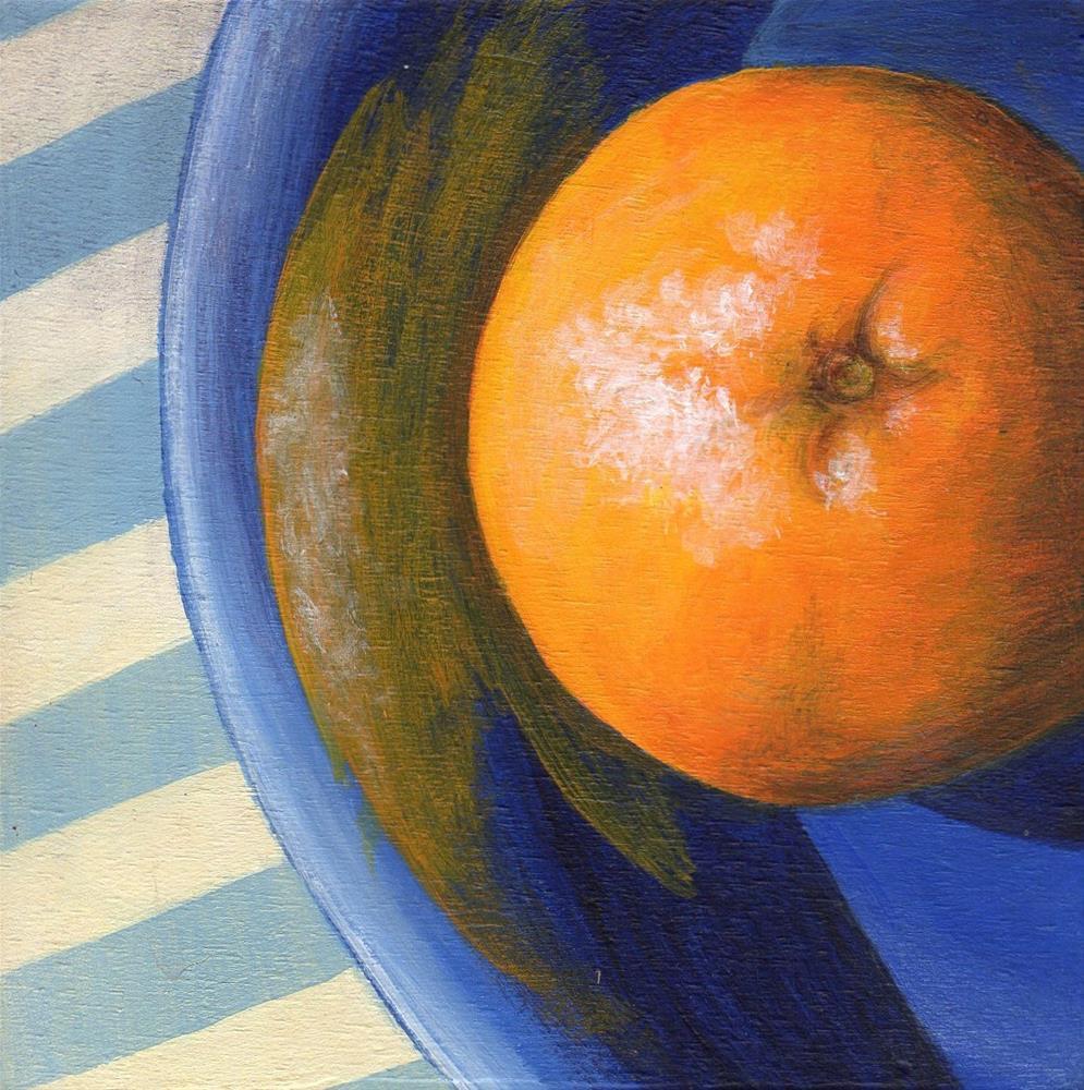 """""""For You Blue"""" original fine art by Debbie Shirley"""