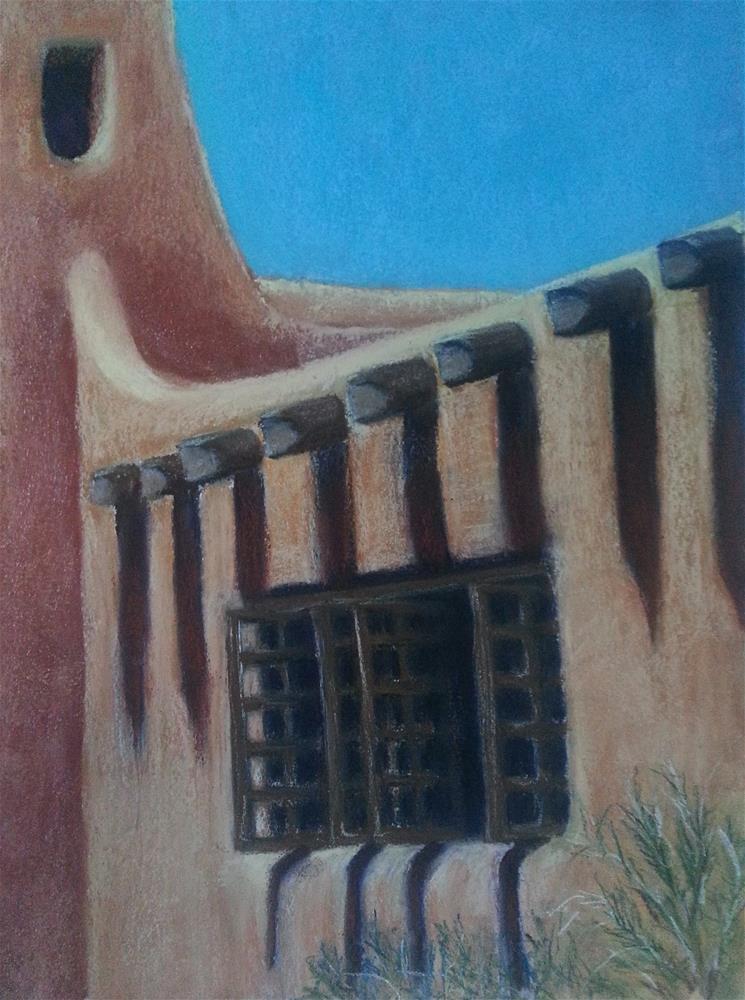 """Santa Fe Breeze"" original fine art by Anna Lisa Leal"