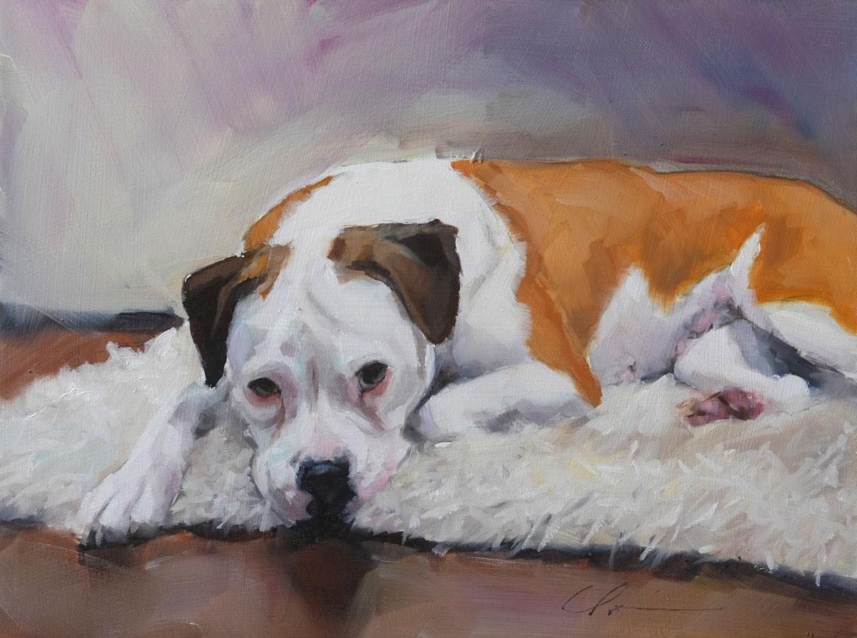 """Molly Commission"" original fine art by Clair Hartmann"