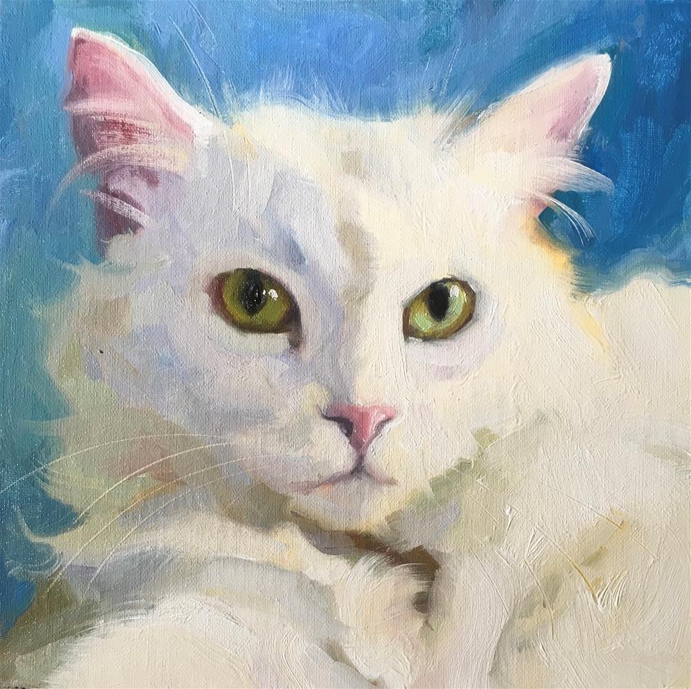 """Adopt386"" original fine art by Katya Minkina"