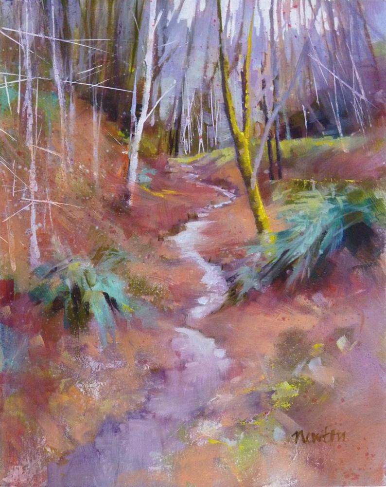 """""""Oil Color Study 2"""" original fine art by Barbara Benedetti Newton"""