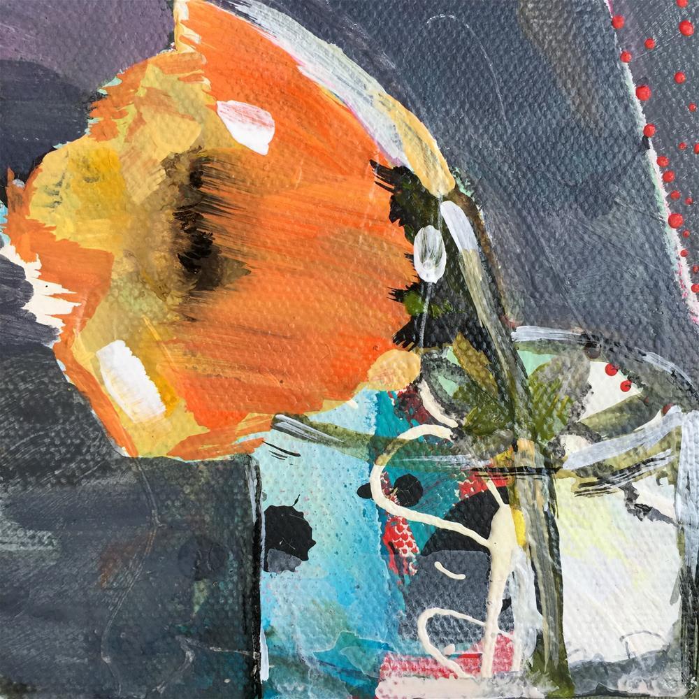 """""""Poppy"""" original fine art by Jenny Doh"""
