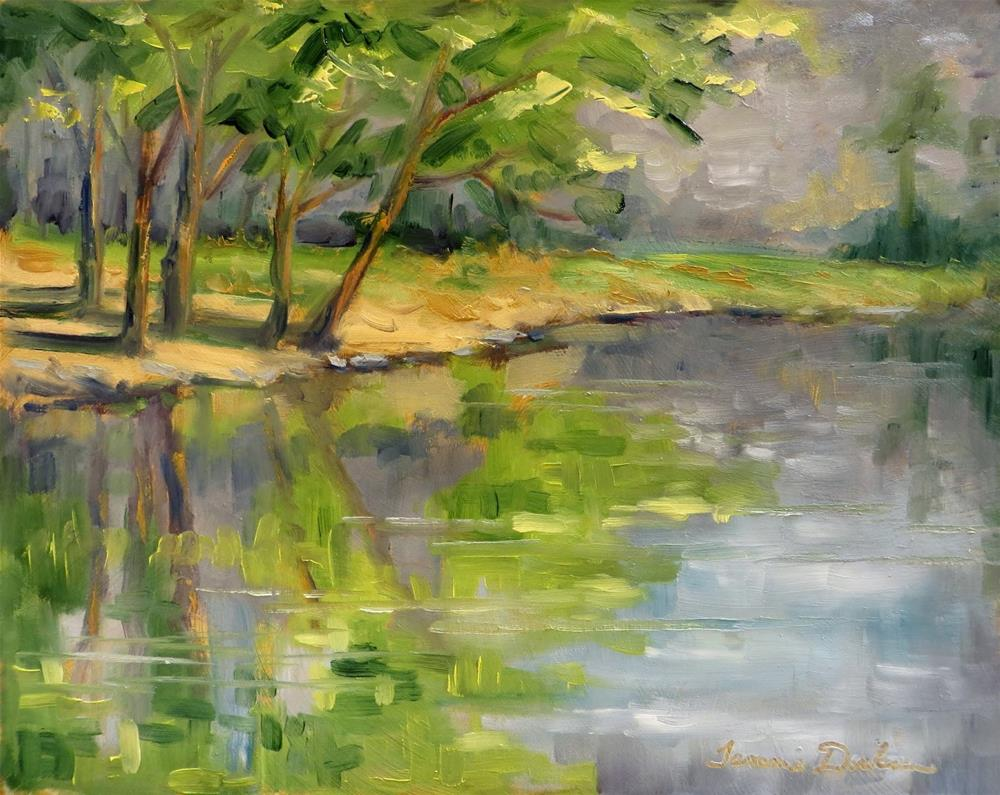 """Gentle Reflections"" original fine art by Tammie Dickerson"