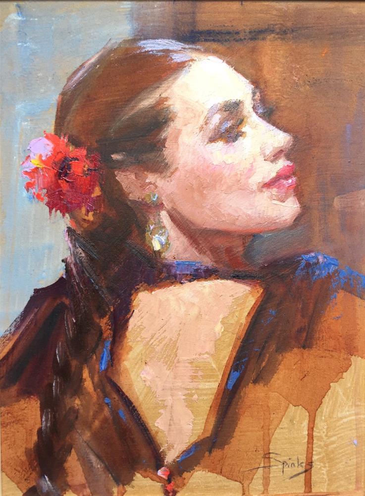 """The Dance"" original fine art by Johanna Spinks"