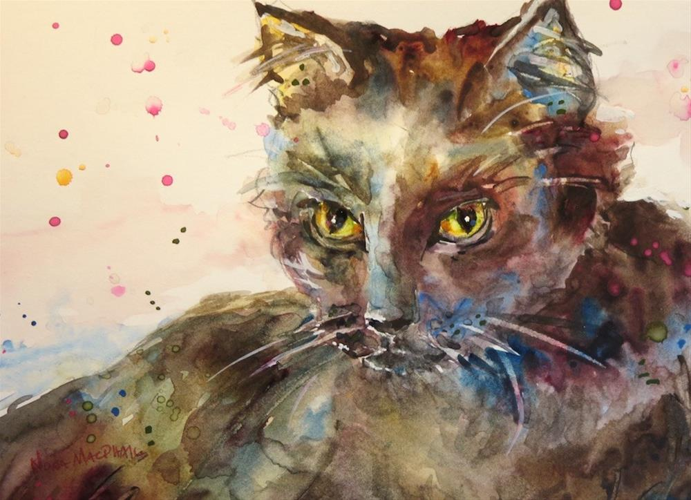 """keep watch"" original fine art by Nora MacPhail"
