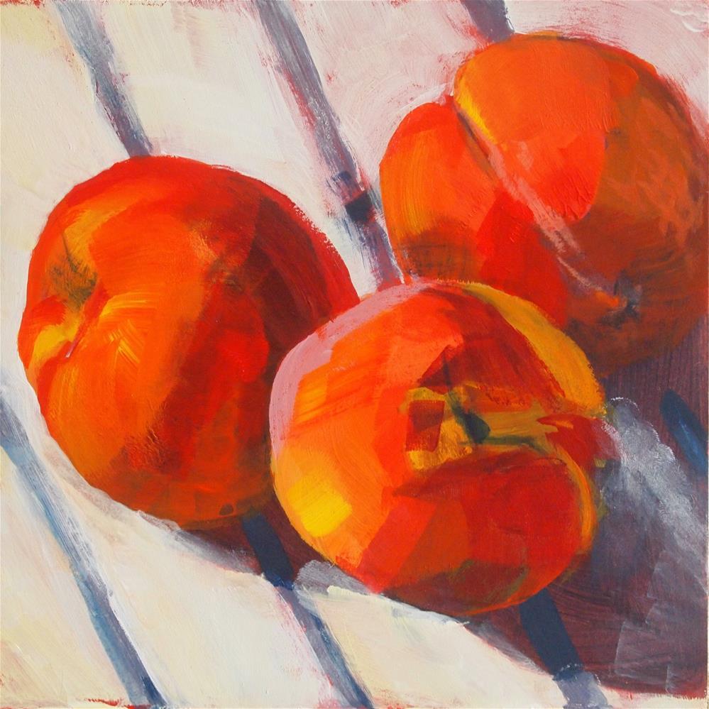 """""""peaches"""" original fine art by Cindy McDonough"""