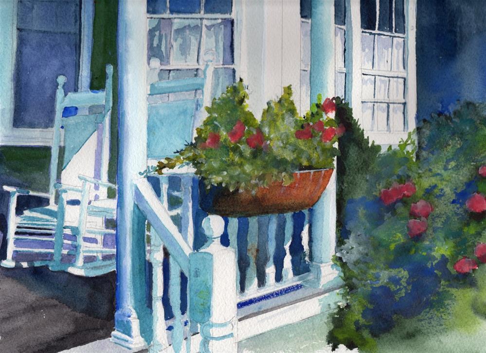 """Island Scene "" original fine art by Bunny Griffeth"