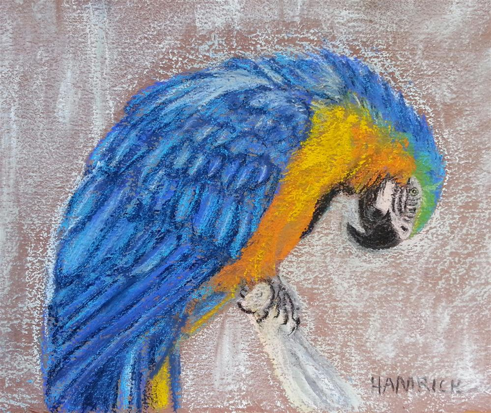 """Thinking About You"" original fine art by Phyllisha Hamrick"