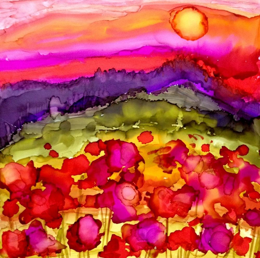 """Landscape 6"" original fine art by Kristen Dukat"