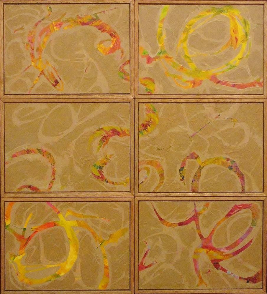 """""""Serpentine"""" original fine art by Priscilla Bohlen"""
