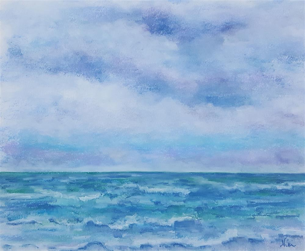 """The Open Sea"" original fine art by Niki Hilsabeck"