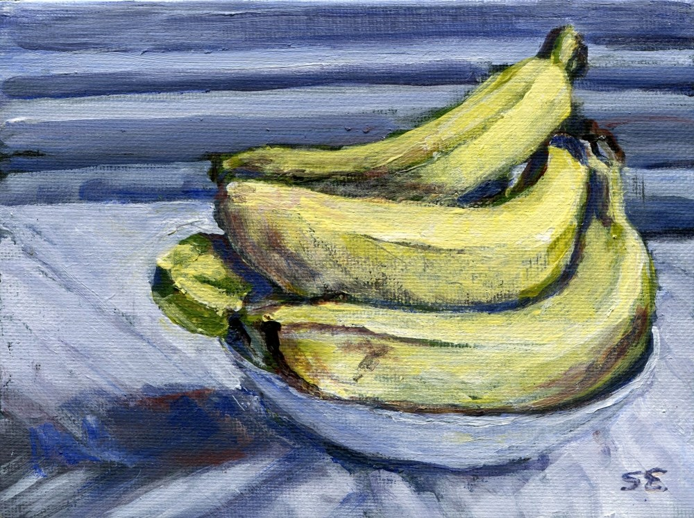 """""""Hand In A Bowl"""" original fine art by Stanley Epperson"""