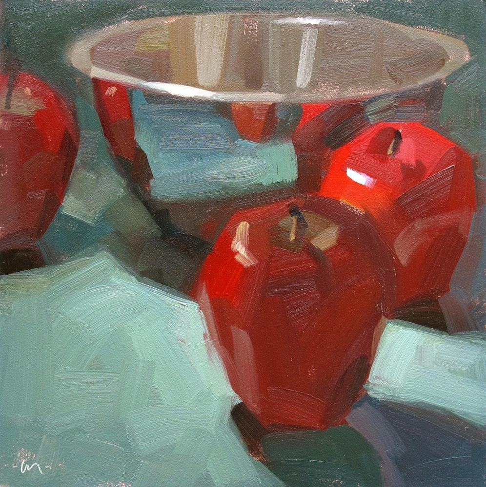 """Drawn to Reflections"" original fine art by Carol Marine"