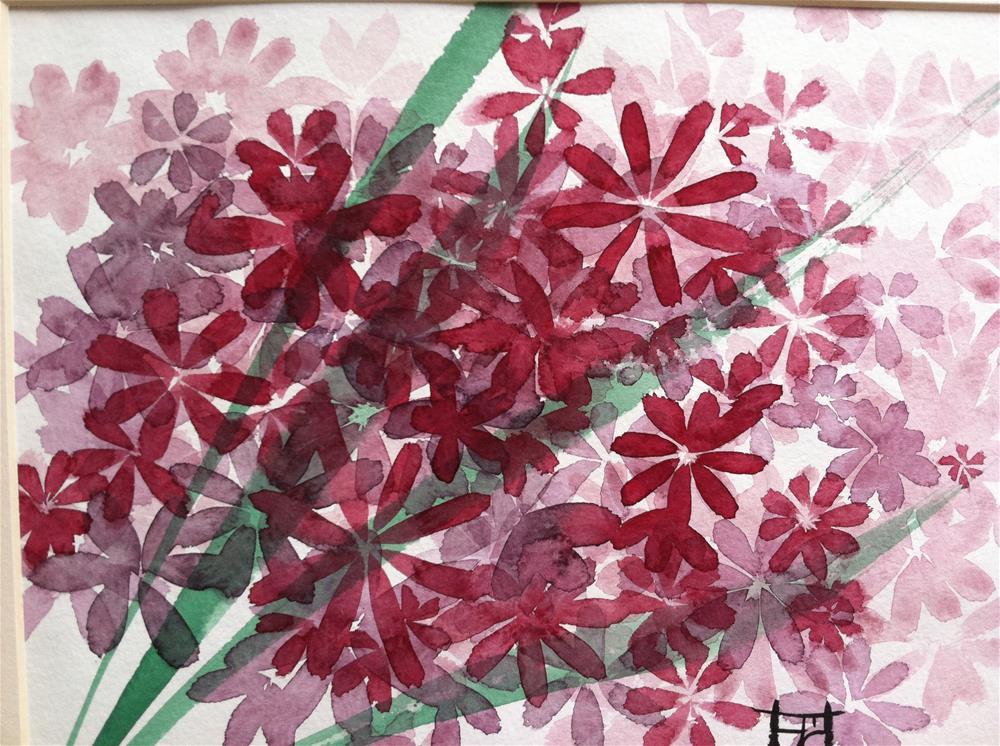 """""""Wild Flower-5"""" original fine art by Arron McGuire"""