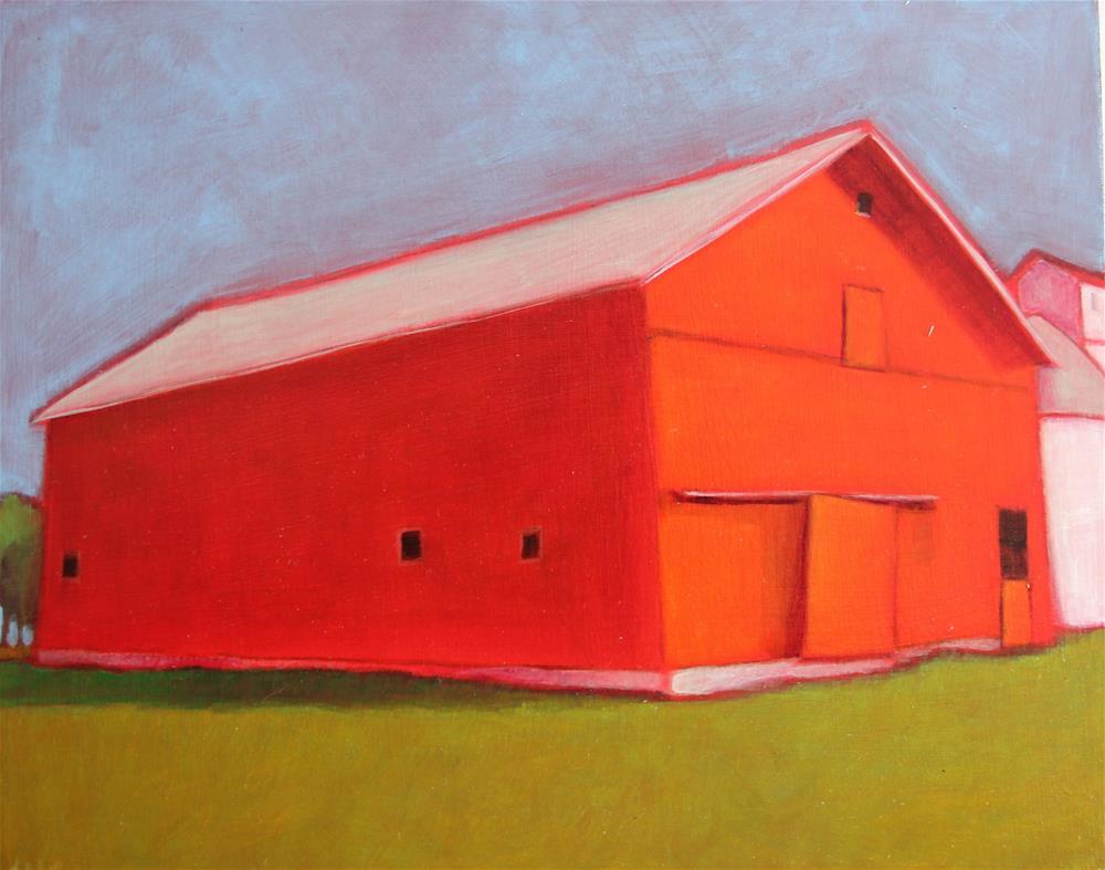 """Classic Red"" original fine art by Almira Hill Grammer"