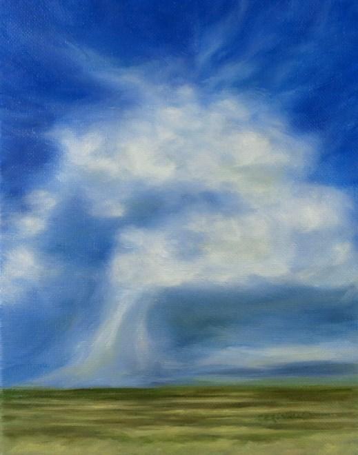 """Angel Squall"" original fine art by Carol Zirkle"