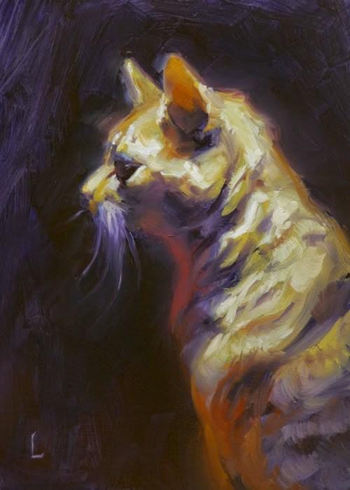 """""""Neville"""" original fine art by John Larriva"""