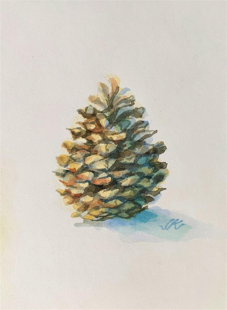 """Arizona Pine"" original fine art by Jean Krueger"