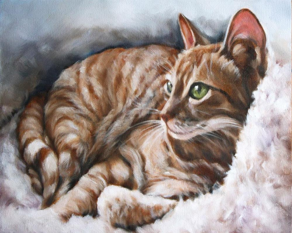 """Pure Comfort"" original fine art by Carolyn McQuarters"
