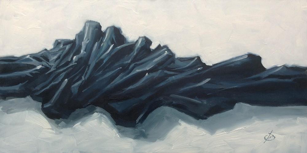 """BLACK & WHITE"" original fine art by Tom Brown"