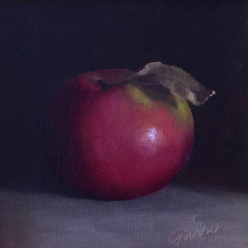 """""""Macintosh Apple"""" original fine art by Michelle Garro"""